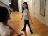 Bruce Lee vs Jackie Chan daughters KUNG FU fight 4 GUILTY
