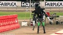 DARPA Robotics Challenge 2015 -  Robots Falling