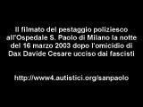 Agresión policial en Milan contra antifascista
