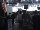 Ron Paul in Iowa: Nat'l Anthem