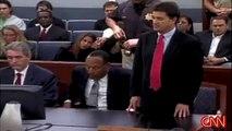 OJ Simpson : GUILTY !  - OJ is cuffed in court