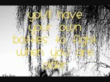 Keep you safe - JJ Heller (with Lyrics)