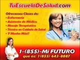 Tenemos cursos de salud gratis para que estudies gratis en escuela de Miami FL