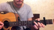 Prince of Peace - Hillsong UNITED (acoustic guitar tutorial from Hillsong Kiev)