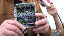 Electro-Harmonix Superego Synth Engine & Crying Tone Wah Demos
