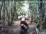 Dirt bikes at Evans Creek, WA Helmet Cam