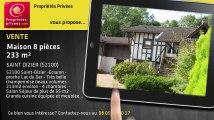 A vendre - maison - SAINT DIZIER (52100) - 8 pièces - 233m²