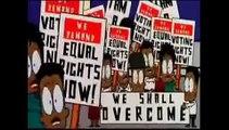 Luther King, lucha contra el racismo en EEUU, Kenedy y Wallace (1963)