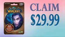 Redeem World of Warcraft (WOW) 60-Day Subscription card code generator $30 [Tested method][tested