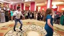 Russian wedding. Lezghinka - Exciting emotional folk dance on the Chechen wedding! 2014 HD.