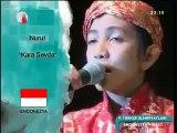 9.Türkçe Olimpiyatları Endonezya NURUL CİRAM-KARASEVDA-ŞARKI ÜÇÜNCÜSÜ  2011