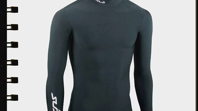 Sub Sports COLD Boy's Thermal Compression Baselayer Long Sleeve Top - 9-10 Years (MY) Black