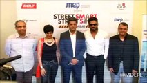 Mumbai Traffic Police Launches-Street Smart-Street Safe With Sunil Shetty