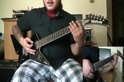 Megadeth - Symphony of Destruction guitar cover - by Kenny Giron (kG)