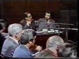 El fiscal Julio César Strassera en el juicio a las Juntas Militares