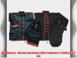 MAR Kung Fu - Wu Shu Suit Black (100% Polyester) 7/200B (NCAT-46)