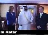 Amer Qatar and Sa7eb aljazera امير قطر و صاحب قناة الجزيرة مع ليفي وزيرة الخارجية الاسرائيلية