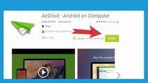 Descargar Airdroid para contestar tus mensajes de whatsapp desde el PC