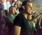 Ultras Napoli Curva A napoli vllaznia coro contro la polizia