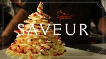 How to Make a White Chocolate Christmas Tree with Jacques Torres