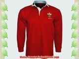 Wales Welsh Cymru Rugby Shirts Unisex Adults Collar Full Sleeve S M L XL XXL 3XL 4XL 5XL (4XL)