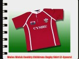 Wales Welsh Cooldry Childrens Rugby Shirt [2-3years]