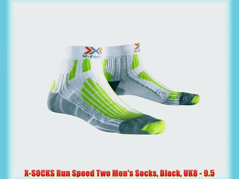 X-Socks Run Speed Two Ladies Socks Black//Fuchsia 37-38