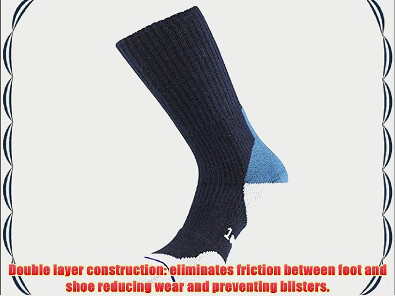 1000 Mile Women's Fusion Merino Walking Sock - Navy Medium (6-8.5)