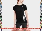 adidas Supernova Women's T-Shirt black black Size:FR : XS (Taille Fabricant : XS)
