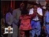 Michael Jordan and Scottie Pippen at a James Brown concert