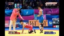 アジア大会2014 長谷川恒平 男子レスリング59キロ級金メダル!!!