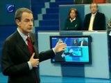 """ZP en RTVE: """"No negué la crisis, no prometí el pleno empleo, no me senté ante la bandera..."""""""