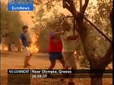 Near Olympia - Greece - EuroNews - No Comment