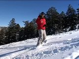 Advanced Snowboarding Tips : How to Turn in Powder on a Snowboard