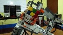 CURSO DE ROBOTICA CON LEGO ( ROBOT QUE ARMA EL CUBO DE RUBIK)