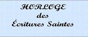 75F Horloge des Ecritures Saintes