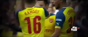 Alexis Sanchez Amazing Goal - Arsenal vs Aston Villa 3-0 (FA Cup Final 2015)