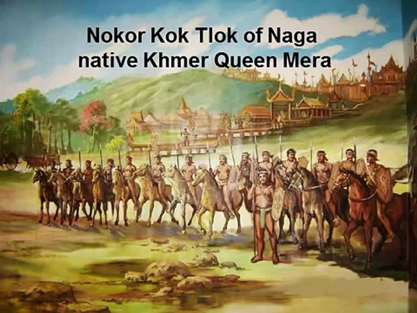 KHMER PEOPLE LIFE STYLE MAKES KHMER CIVILIZATION NOT HISTORICAL AFRICAN INFLUENCE!!!
