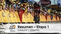 Resumen - Etapa 1 (Utrecht > Utrecht) - Tour de France 2015