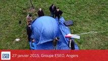 L'ESEO envoie Cyprien dans l'espace / Ballon sonde ESEO / CNES