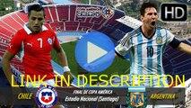 Chile vs Argentina Live Streaming Online En Directo En vivo Stream Copa America 2015