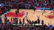 LeBron James v. Derrick Rose Cavaliers Bulls Game-Winner Game 3 Game 4 NBA Playoffs