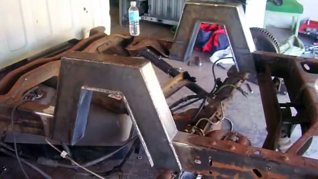 Bagged Truck - Step notch welding