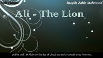 """Ali, the LION"" crushed him down 