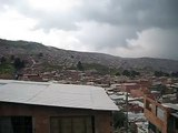 Panorámica del Barrio Divino Niño (Localidad Ciudad Bolivar - Bogotá)