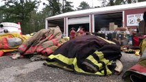 GOOSE CREEK ISLAND FIRE STATION FLOODS OUTSIDERS COME HELP