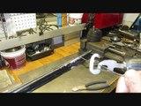 Wire twister'' K '' drill bit tool, wire twister