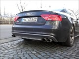 Audi S5 Coupe 4.2 V8 Tiptronic LOUD CAPRISTO Exhaust Fly By Downshift Sound Auspuff Sportauspuff