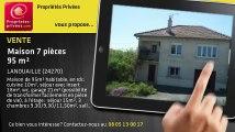 A vendre - maison - LANOUAILLE (24270) - 7 pièces - 95m²