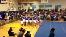 Foothill High School Varsity Cheer Halftime - Amador